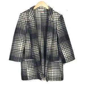 Urban Outfitters Urban Renewal Black White Coat